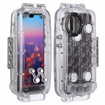 PULUZ 40m / 130ft Smartphone Waterproof Case for Huawei P20 Pro Deep Sea... - $127.76