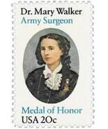 1982 20c Dr. Mary Walker, Surgeon Scott 2013 Mint F/VF NH - $0.99
