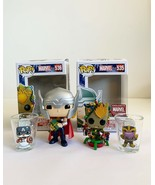 Funko Marvel Collector Box Holiday Theme With Groot & Thor Vinyl Toys & ... - $34.64