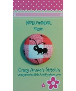 Black Ant Solid (facing left) Needleminder fabr... - $7.00