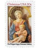 1984 20c Christmas Lippi Madonna & Child Scott ... - $0.99