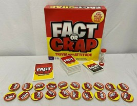 Fact or Crap Game Trivia With Attitude - $22.91