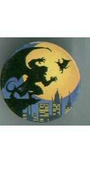 Walt Disney GARGOYLES Bronx action figure / pog / game / stickers +