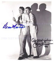 Jerry Lewis And D EAN Martin Signed Autographed Autogram 8x10 Photo Great Comedy - $18.49