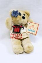 VINTAGE w/ TAGS 1980s Applause CU Tees Birthday Teddy Bear Plush Doll - $29.69