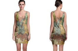 Map tolkiens legendarium Bodycon Dress - $21.99+