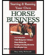 Starting & Running Your Own Horse Business :  NEW Softcover @ZB - $9.95
