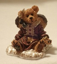 Boyd Bearstone Resin Bears Guinevere The Angel Figurine #228308 10E - $8.56