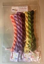 Silk Floss Fiber Pack For Lavender Mint Cross Stitch Chart Dinky Dyes - $25.20