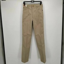 Vintage Wrangler Wrapid Transit Mens Chino Pants Beige 30 Long Nwt - $35.64