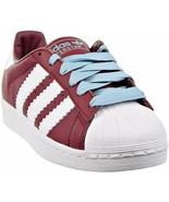 Adidas Superstar Mens Shoes Burgundy-Cloud White PHILLIES MIKE SCHMIDT P... - $78.99