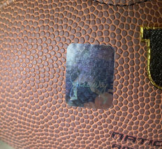 MANNING & ELWAY / AUTOGRAPHED WILSON BRAND FULL SIZE NFL FOOTBALL / PLAYER HOLOS image 7