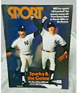 Sport Magazine Sparky Lyle Goose Gossage Yankees April 1978 FAIR GOOD - $4.94
