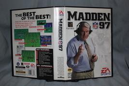 Madden 97 Sega Genesis Complete CIB - $12.59