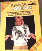 Plaid Stylish Wearable Sweats Paint Decorative Designer Techniques Book Vintage - $7.12