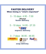Shipping Pay Link for Faster Delivery - Options for Fast, Express, or ASAP  - $4.95+