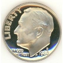 1980-S DCAM Proof Roosevelt Dime #0631 - $1.99