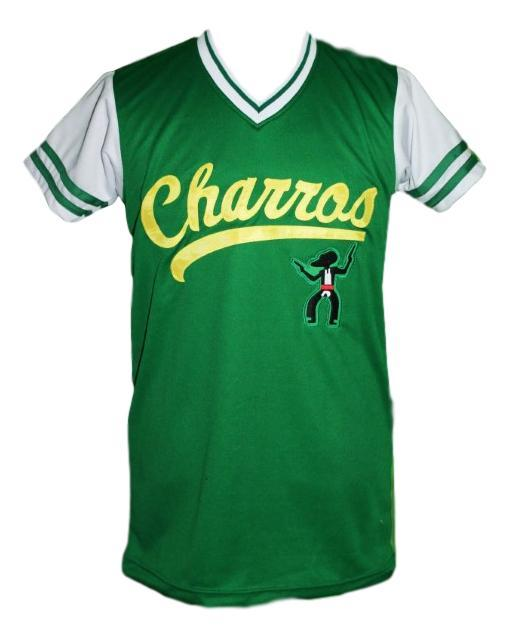 Kenny powers  55 charros eastbound and down tv baseball jersey green  1