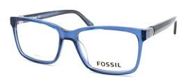 Fossil FOS 7035 QM4 Men's Eyeglasses Frames 54-17-145 Crystal Blue + CASE - $79.00