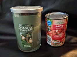Yankee Candle Holiday Bayberry Large 22 OZ Jar Tumbler Retired NEW - $36.45