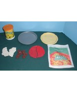 Vtg. Fisher Price Fun with Food #2136 Homemade Pizza Play Set Complete/VG++ (F) - $35.99