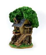 Fairy Garden Solar Tree House, Summer Tree House, Birthday or Holiday Gift - $38.99