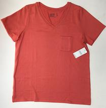 Jockey Microfiber Stretch Women V-neckline Pocket Top,Coral,XL - $19.79