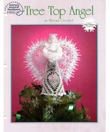 Y929 Crochet PATTERN Book ONLY Tree Top Angel C... - $17.45