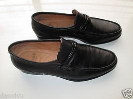 Allen Edmonds Bergamo Genuine Leather Penny Loafer Men' Shoes Black 8D MSRP $325 - $142.49