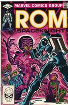 Rom Spaceknight Comic Book #32 Marvel Comics 1982 FINE+ - $3.50