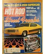 Hot Rod Magazine November 1980 Street Freaks Buy a Used Supercar - $8.90
