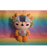 Beijing China 2008 Summer Olympics Ying Ying Plush Mascot Doll - as is - $7.79