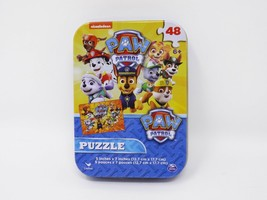Cardinal Nickelodeon Paw Patrol 48 pc Puzzle in Tin - New - $8.99