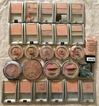 Lot of 27: NEW Maybelline L'Oreal NYC NYX Blush Face Blusher Illuminator... - $24.74