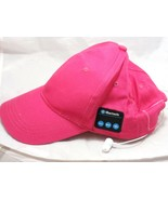 BT-1 Pink Hat with Built-In Bluetooth Earphones Jogging Golf New out of ... - $8.86