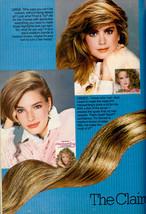 1985 Clairol Kathy Ireland Hair Highlights Retro Print Advertisement Ad VTG 80s - $8.20