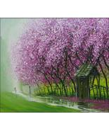 """Fresh Scent After Rain, 24"""" x 32"""" commission original oil painting by Ph... - $390.00"""