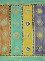Sarong Coverup Pastel Suns Tapestry Altar Wall New - $21.89