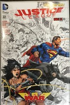 JUSTICE LEAGUE #22 DC Comics 2013  FAN EXPO SKETCH IVAN REIS VARIANT Rare - $78.39