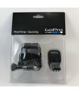 GoPro Head Strap & Quickclip - $9.89