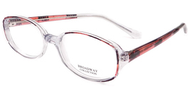 Broadway Collection Marcia Eyeglasses in Demi Burgundy - $25.00