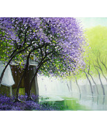 A Misty Day, a 24 high x 28 commission original oil painting by Ph - $249.00