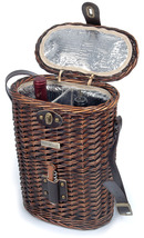 ENHANCED VINEYARD COLLECTION WILLOW WINE BASKET - A - $39.00