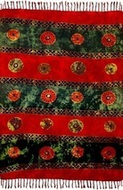 Sarong Coverup Chinese Coins Tapestry Altar Wall New! - $21.89
