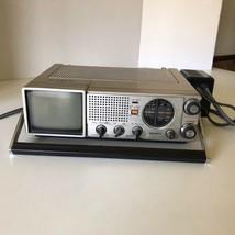 Sony TV-411 Portable TV-FM/AM Receiver w/ Power Supply Read Description - $48.37