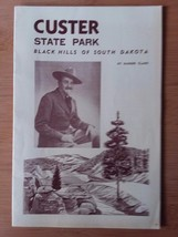 Black Hills of South Dakota Custer State Park Pamphlet - $13.32