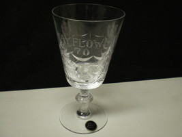 "THOMAS WEBB ENGLAND ""MAYFLOWER 70"" GOBLET~~~ - $9.99"