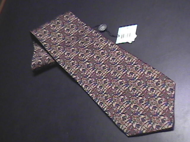 Tie daniel de fasson new with tags browns   blues 01