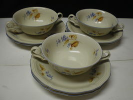 VINTAGE ROSENTHAL CHIPPENDALE CREAM SOUP & LINER~~~3 CUPS / 6 LINERS - $24.95