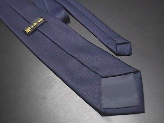 Master Man Men's Neck Tie Golden Pussywillow on Blue